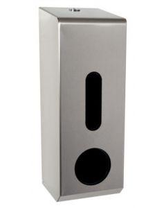 3-Toilet Roll Dispenser Stainless Steel - JPL45MBS